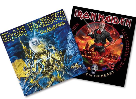 1985 & 2020 – Iron Maiden Live